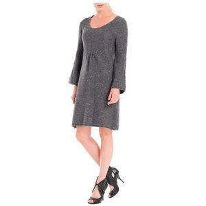 MAX STUDIO tweed sweater dress